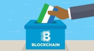Blockchain e voto