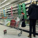 Calo della spesa degli Italiani